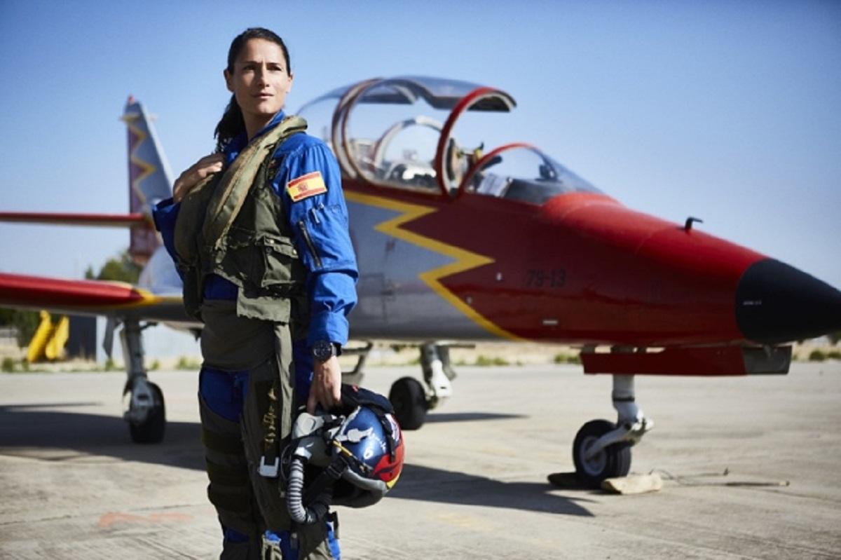 La comandante Rocío González Torres