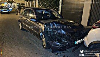Accidente en Castilleja / Policía Local