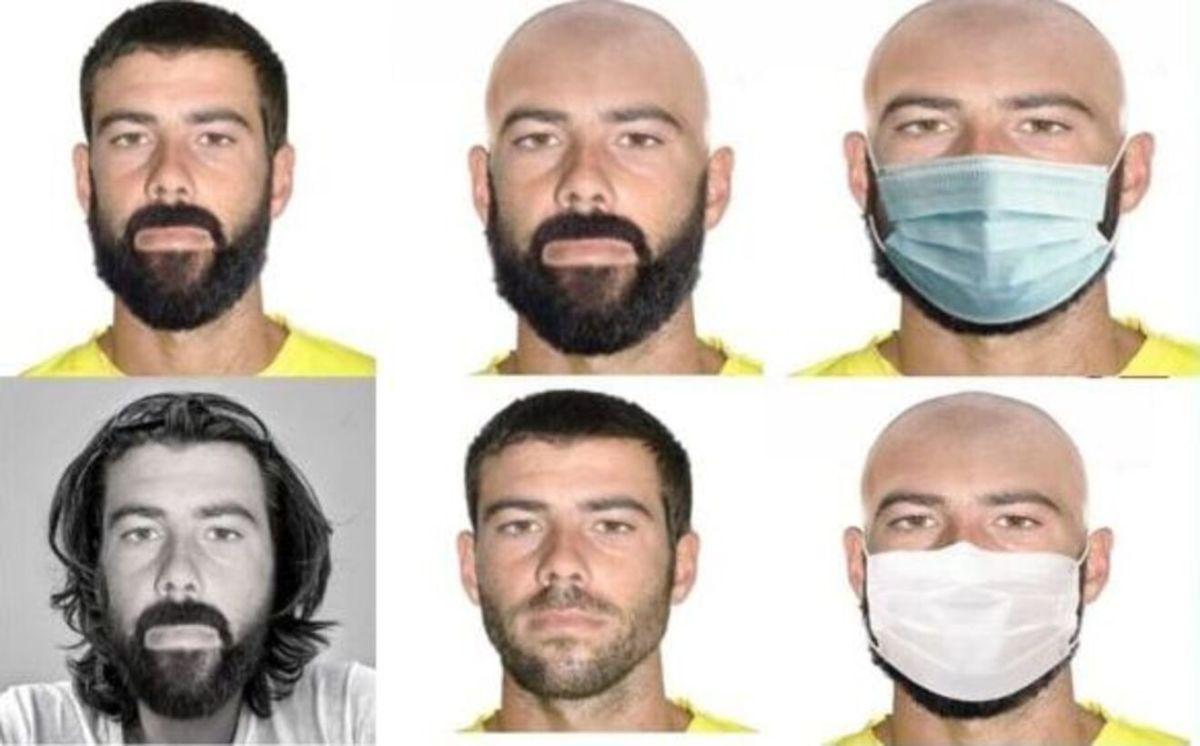 Retratos robot de Tomás Gimeno / SOS Desaparecidos