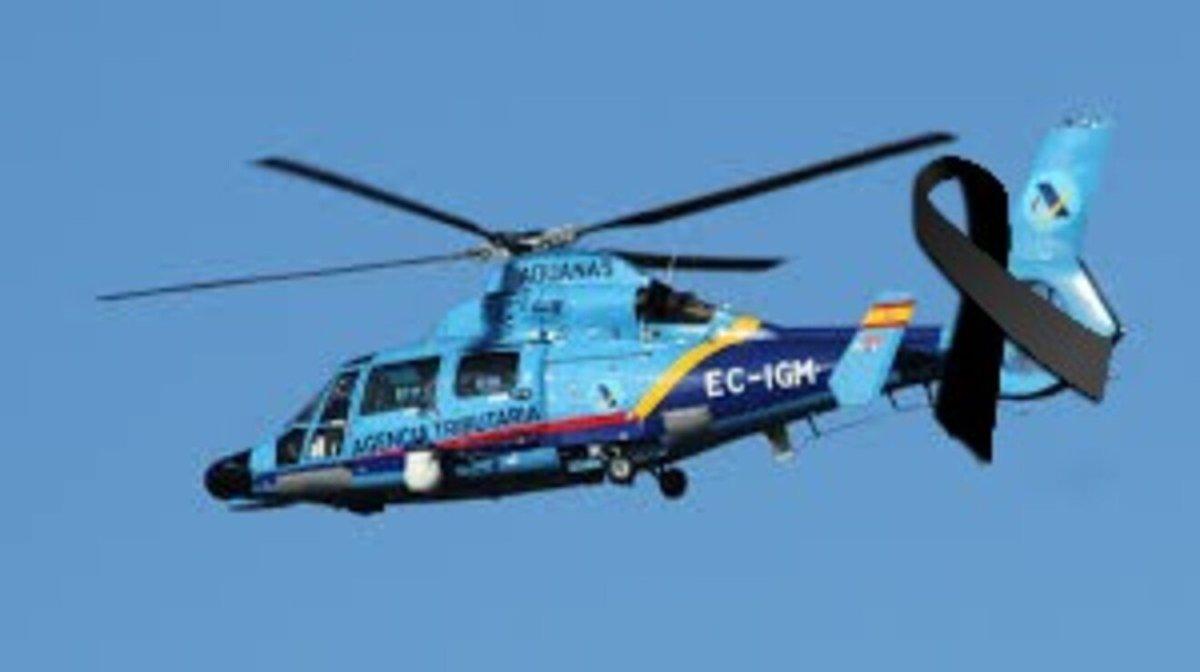 Helicóptero de la Agencia Tributaria / AUGC