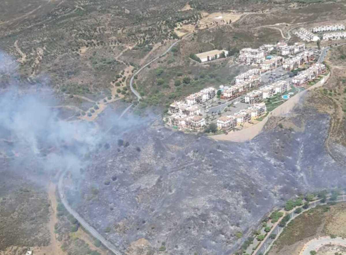 Incendio forestal en Ayamonte / INFOCA