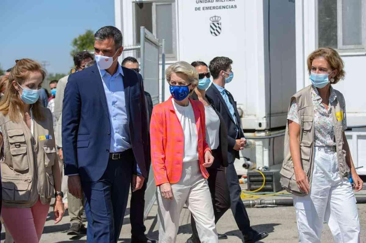 Pedro Sánchez y Ursula von der Leyen en Torrejón de Ardoz / Comisión Europea