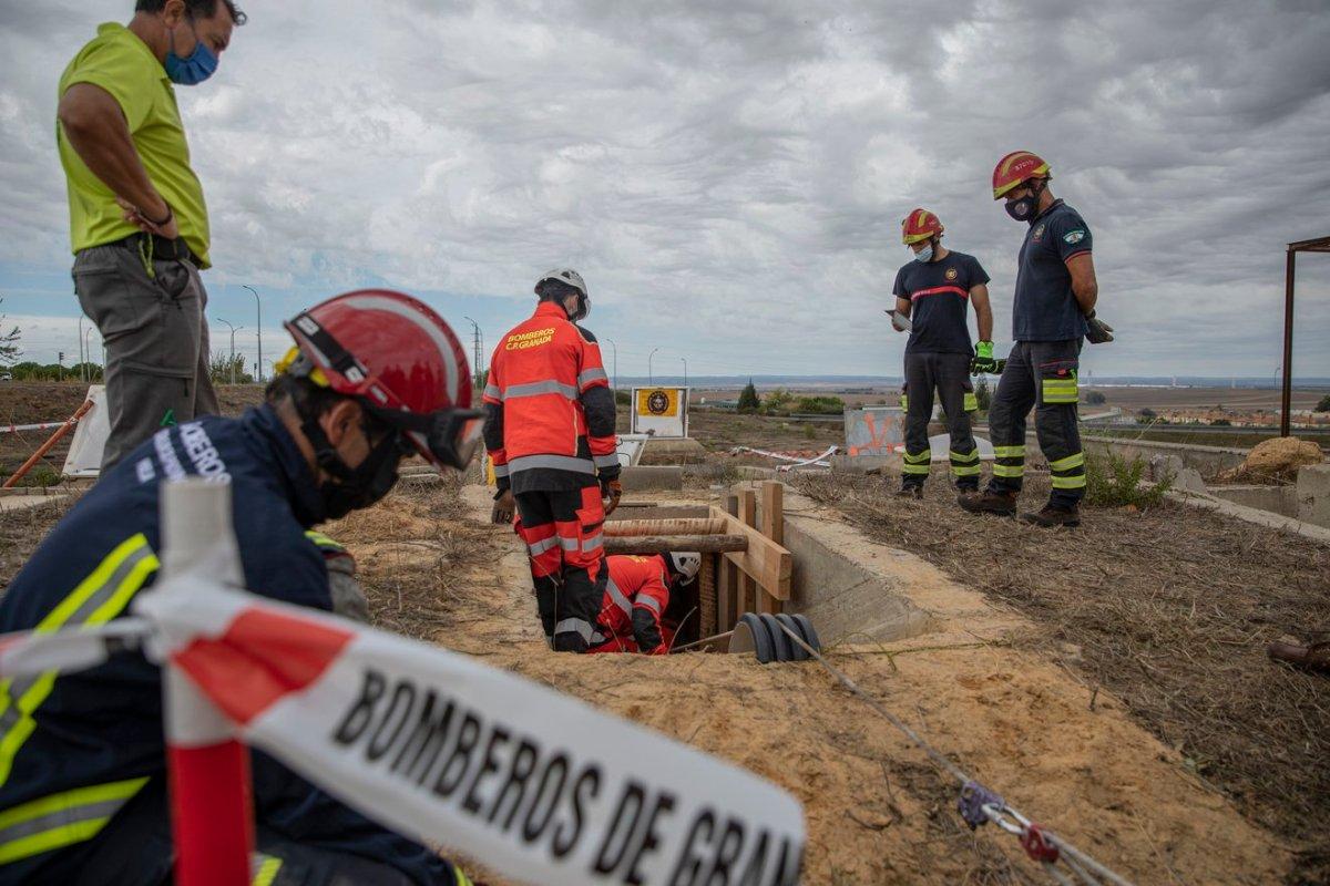 Simulacro de emergencias en Aznalcazar / Junta de Andalucía