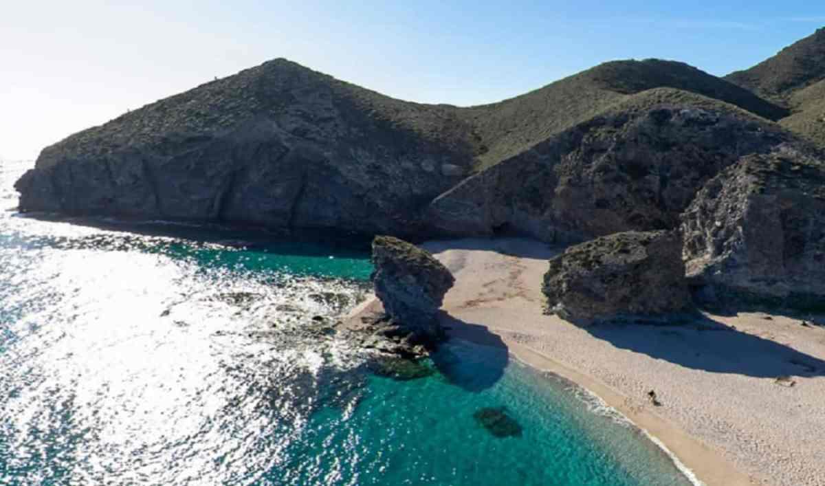 Playa de los Muertos en Carboneras, Almería / Junta de Andalucía