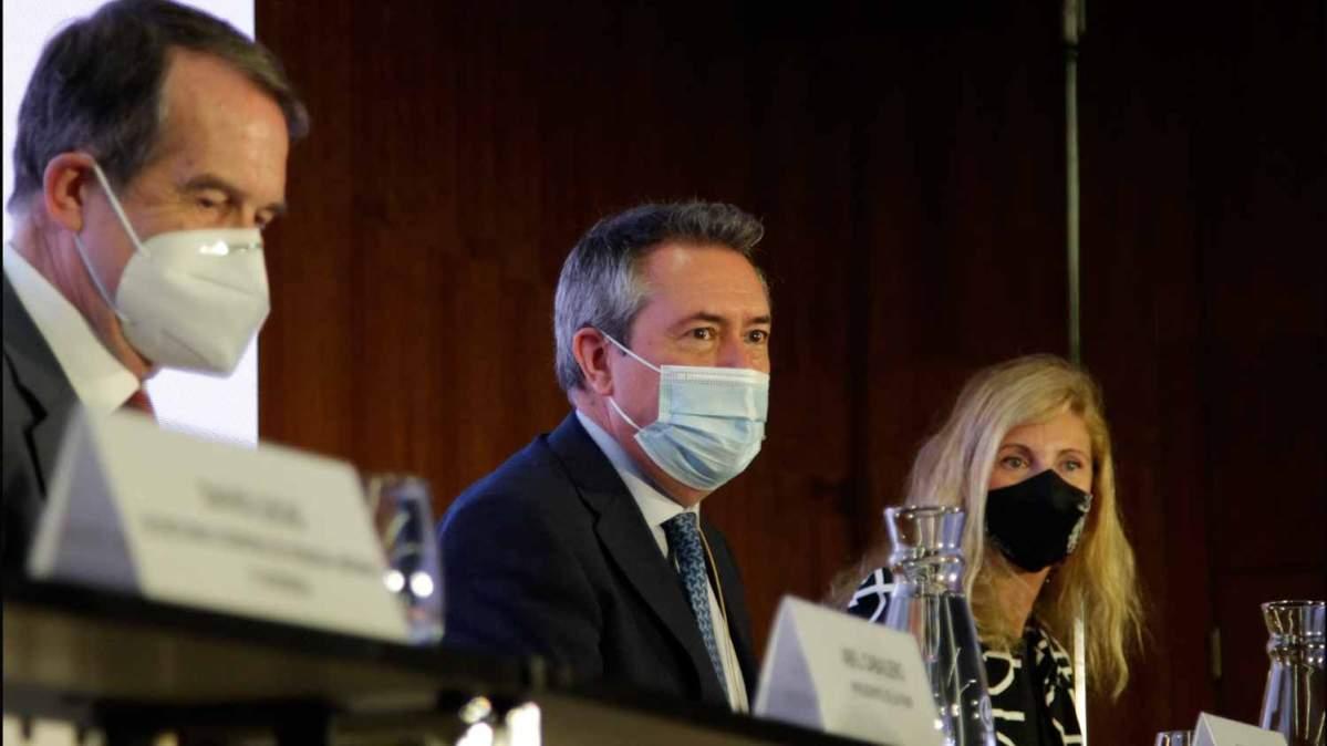 Juan Espadas en el Foro de alcaldes