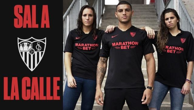 Nueva camiseta Black Limited Edition del Sevilla FC