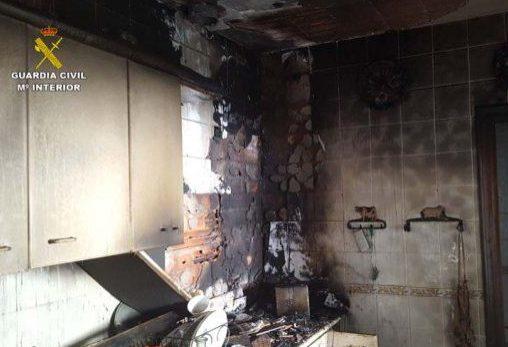 La victima sufrió un ataque de hipoglucemia mientras cocinaba.