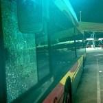Nueva oleada de apedreamientos contra buses de Tussam