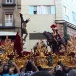 Repuesto al culto el crucificado de la Lanzada tras su restauración