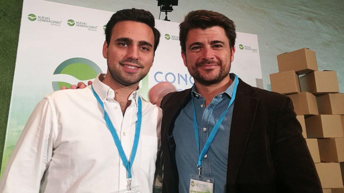 Beltrán Pérez quiere el apoyo de los jóvenes para recuperar la alcaldía de Sevilla.