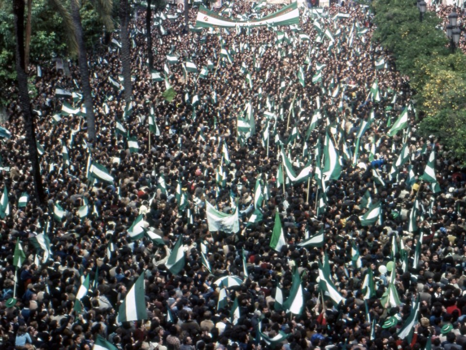 Manifestación del 4 de diciembre de 1977.