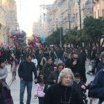 La avalancha de público al centro obliga a adelantar el Plan de tráfico para Navidad