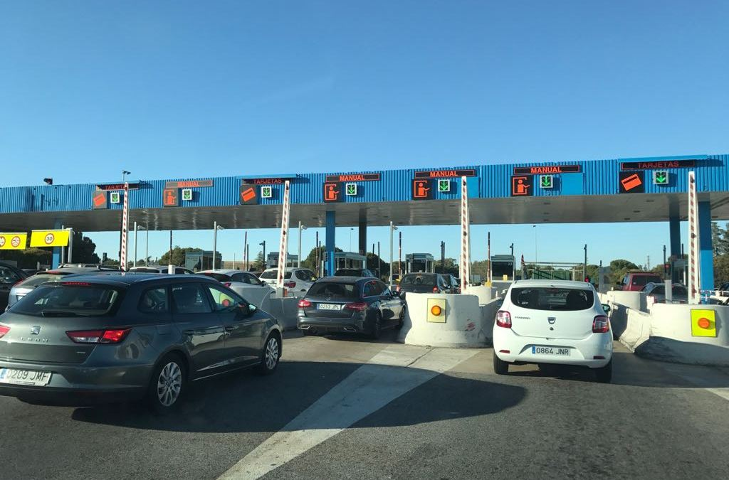El peaje de la autopista Sevilla-Cádiz subirá un 2% en 2018