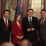 Ignacio Camacho recibe el I Galardón Periodístico de la Fundación Jiménez-Becerril