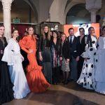 Las palaciega Laura de los Santos gana la V edición del Certamen de diseñadores noveles de moda flamenca