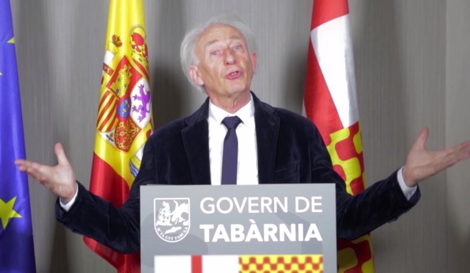 """Albert Boadella, presidente """"en el exilio"""" de Tabarnia"""
