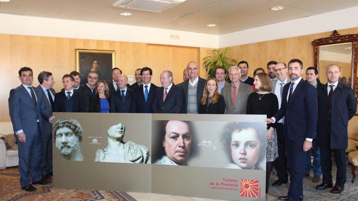Presentación de la agenda única de Sevilla en Fitur 2018