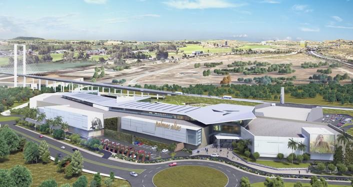 Futuro centro comercial y de ocio Palmas Altas.