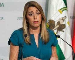 La patética despedida de Susana Díaz