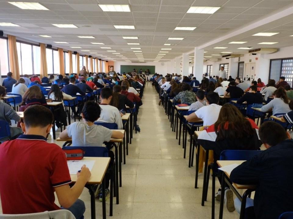 Los alumnos se preparan para las pruebas