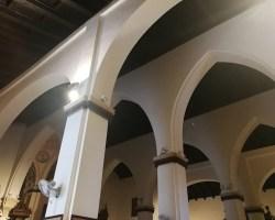 Los arcos túmidos de la torre de San Lorenzo, Sevilla