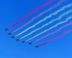 Desfile del Día de las Fuerzas Armadas en imágenes