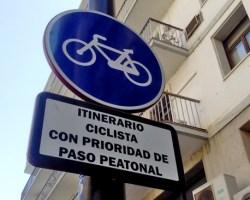 El Ayuntamiento no hace cumplir esta señal