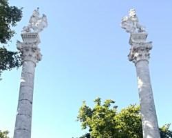 El jardín histórico de La Alameda