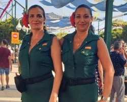 La Guardia Civil se pasa a la moda flamenca