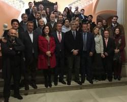"""Inaugurada en el Ayuntamiento la Exposición de pintura y escultura """"Juan de Mesa y la Hermandad de Montserrat"""""""