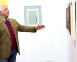 """Miguel Caiceo inaugura en Castilleja de la Cuesta su """"Pasión por pintar"""""""
