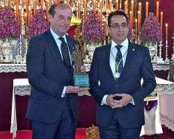 Joaquín Moeckel recibe de la Hermandad de Los Javieres la distinción Javier de Honor 2020