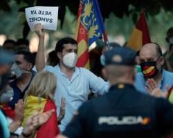 Las manifestaciones en contra del Gobierno en alerta por la presencia de infiltrados que buscan desprestigiarlas
