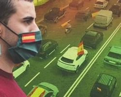 """Hoy se celebra en Sevillala caravana automovilística """"Por España y su libertad"""", convocada por Vox en toda España y autorizada judicialmente hasta en Cataluña"""