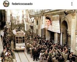 Federico Casado, hijo de Juanita Reina y Caracolillo, publica en su cuenta de Instagram un valioso documento gráfico