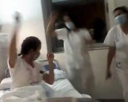 El Tik Tok en los hospitales