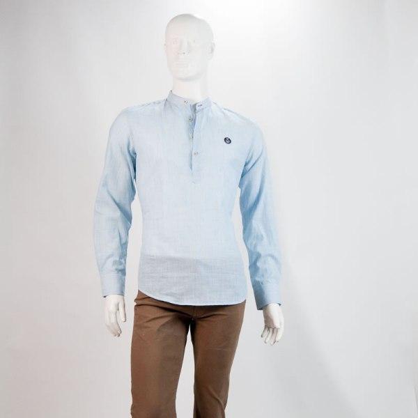 Sevillano y Molina – Tienda online moda hombre – Camisa Palolem Turquesa – Poleras Hombre
