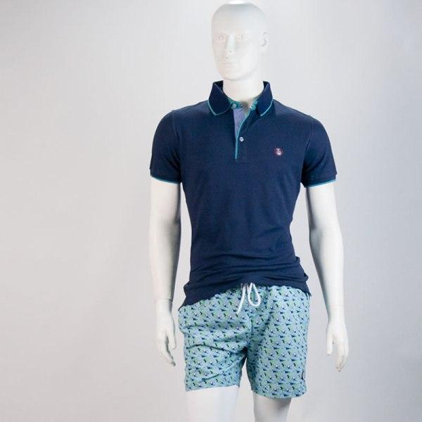 Sevillano y Molina – Bañador Unic Tucán Turquesa – Tienda online moda hombre