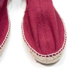 Sevillano y Molina - Tienda online moda hombre - Calzado de hombre - Espartos hombre - Copete espiga Combi Burdeos