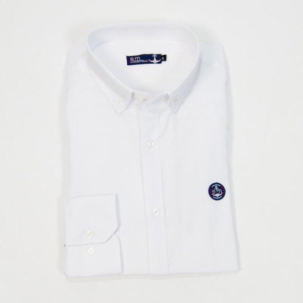 Sevillano y Molina – Camisa Semientallada Blanco
