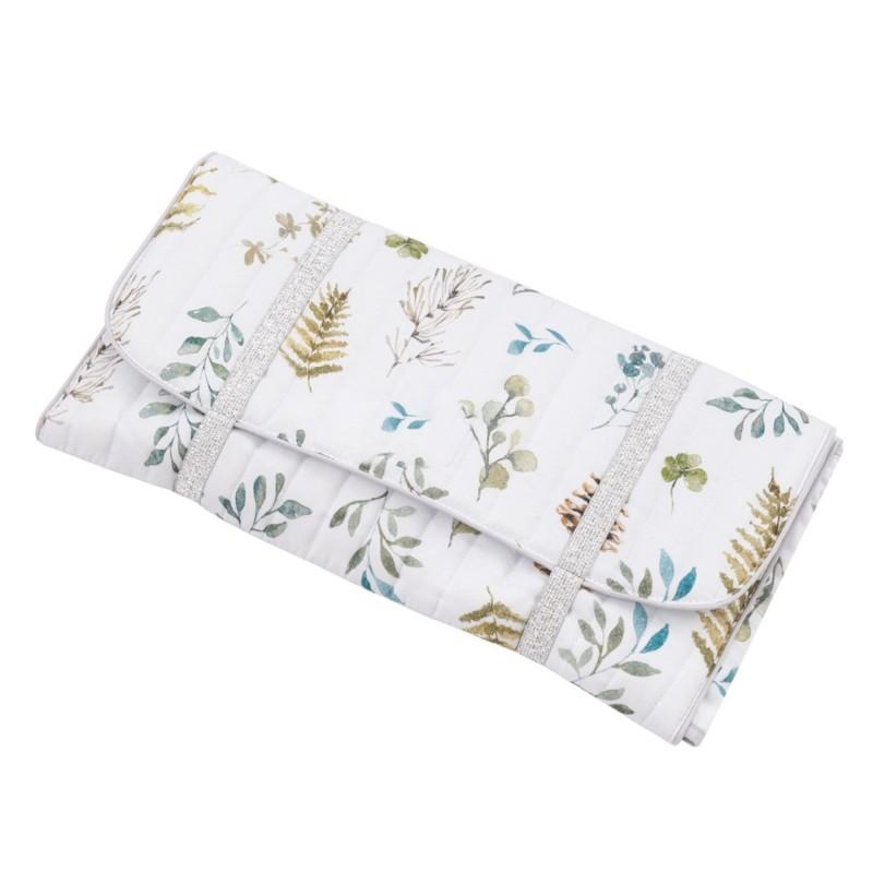 tapis a langer de voyage en coton certifie collection natura