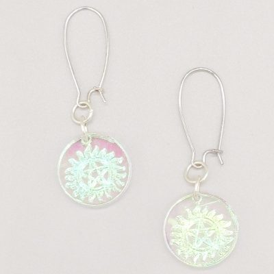 protection symbol earrings