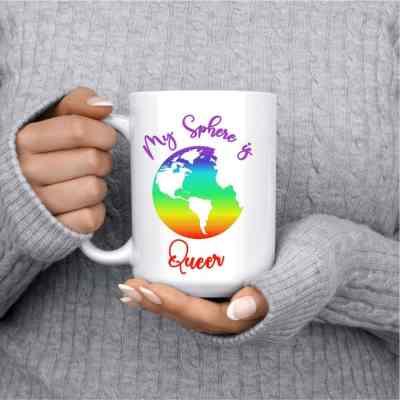 My Sphere is Queer Mug