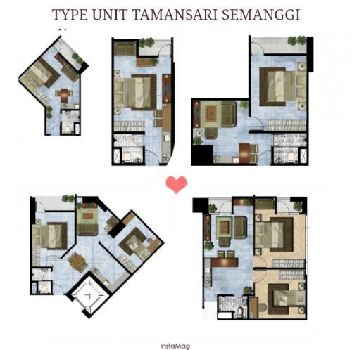 Central Park Apartments Jakarta: Jual / Sewa Apartemen Lokasi Strategis Di Gatot Subroto