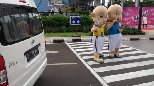 Sewa Hiace Temani Kunjungan Upin Ipin ke Jakarta