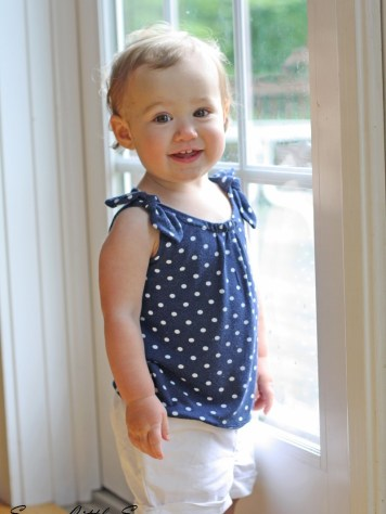 polka dot tank, sewing, sew, kids fashion, gap, sewing tutorial, sewing for kids