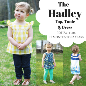 Hadley PDF Sewing Pattern