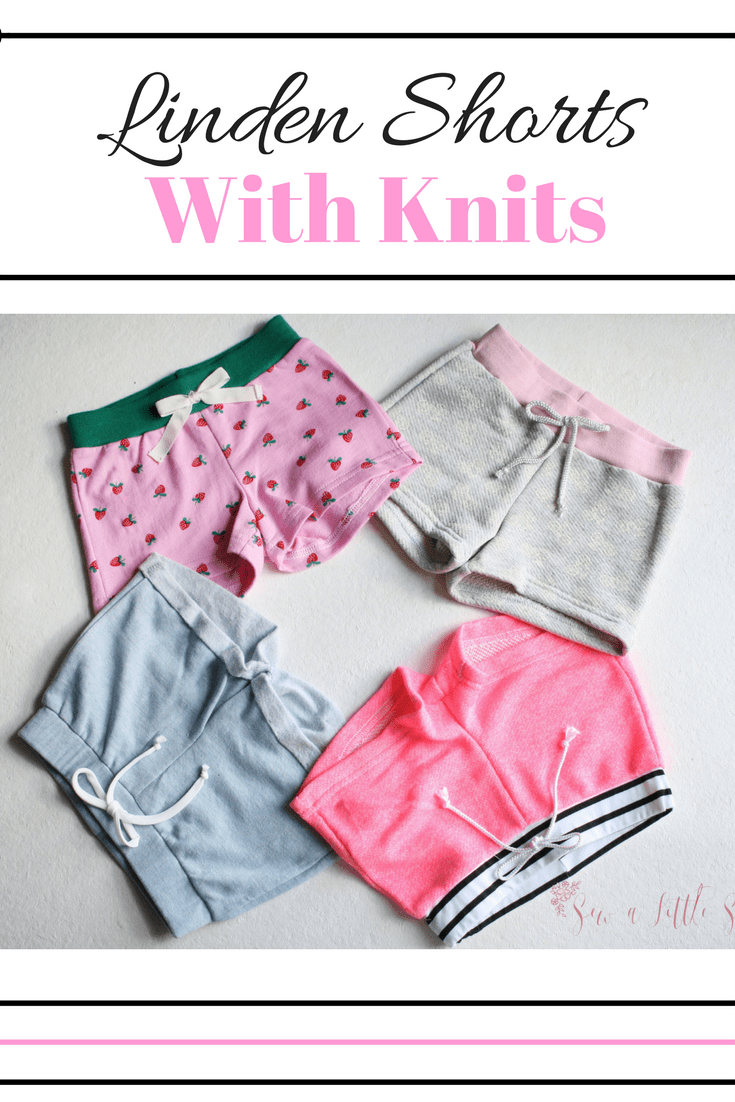 Sew a Little Seam Linden Shorts In Knit