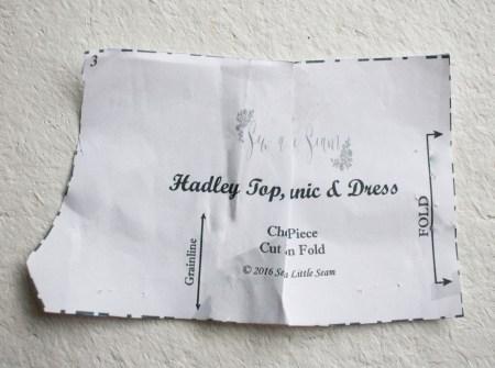 Sew a Little Seam Hadley Pattern