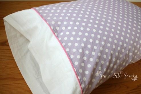 Pillowcase Tutorial by Sew a Little Seam